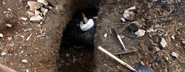Проведение раскопок на местах сражений ВОВ