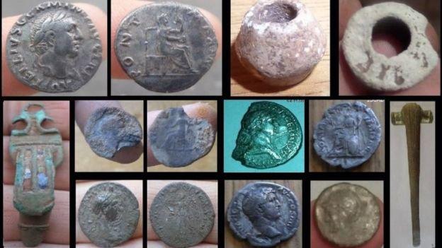 Древнеримские находки из Южного Уэльса