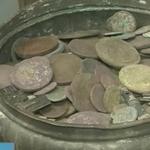 Житель поселка Шилово Рязанской области нашел на своем участке клад