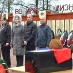Поисковики из Козельска передали останки нижегородского красноармейца родственникам