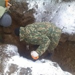 В Волгограде обнаружены останки 19 красноармейцев
