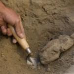 Золотые слитки найдены в усыпальнице древнего некрополя в Китае