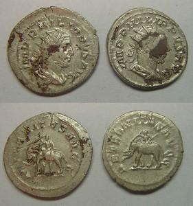 Римские монеты 270 год н. э.