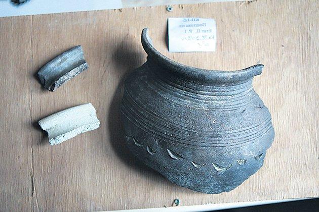 Посуда киевлян для приготовления пищи ХIV-XV веков.