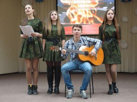 Слет поисковых отрядов в Приволжском районе Астраханской области