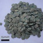 Клад медных монет в Азербайджане