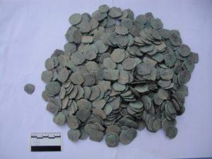 Клад медных монет