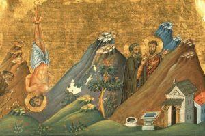Преподобномученик Зосима и преподобный Афанасий