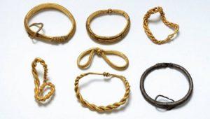 Клад эпохи викингов в Дании