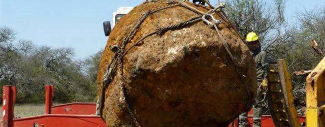 Метеорит из Аргентины, вес - 30 тн.
