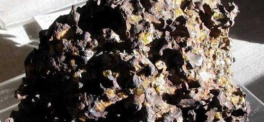 Метеорит Палласово железо