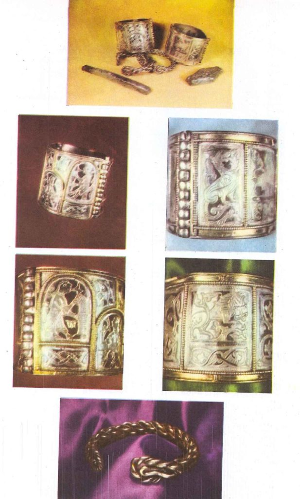 Серебряный клад, который нашла летом 1966 года экспедиция Института археологии Академии наук СССР в Старой Рязани.