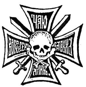 Нагрудный знак 17-го Донского казачьего генерала Бакланова полка