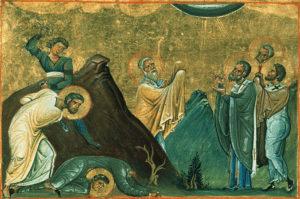 Апостолы от 70-ти Олимп, Ераст, Родион, Сосипатр, Куарт и Тертий
