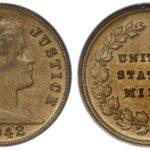 США: с аукциона за 70000 долларов ушел уникальный стеклянный цент 1942 года