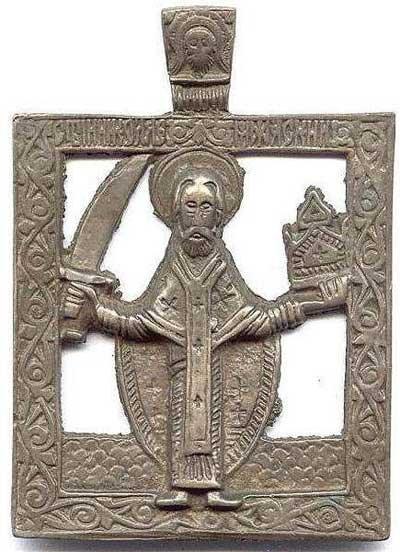 "Икона ""Святой Николай Чудотворец"", Россия, XVII век"
