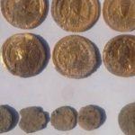 Клад золотых монет найден в болгарском городе Девня